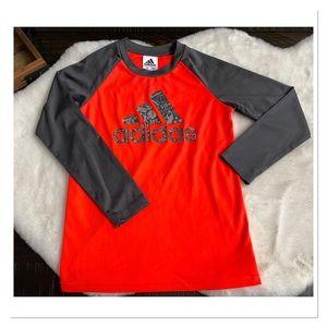 ADIDAS Logo Long Sleeve Boys Shirt